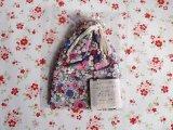 リバティプリントの巾着袋002