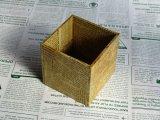 【DIY】英字の小箱ペン立て/メープル