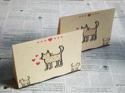 画像2: 【デザイン】猫の写真立て(ノベルティパック)
