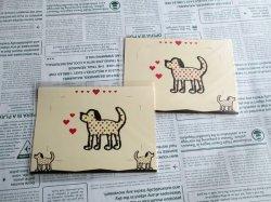 画像1: 【デザイン】犬の写真立て(単品)