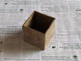 【DIY】英字の小箱ペン立て/ウォールナット