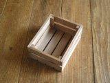 【DIY】木製ハガキハーフサイズ大ケース/チーク