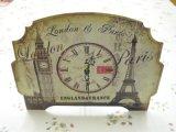 アンティーク2Way時計(エッフェル塔とビッグベン)
